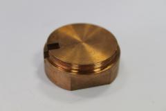 Kupfer - Fräsen und Drehen