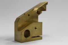 CNC obráběné díly - bronz a mosaz