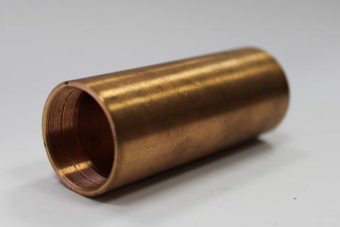 CNC soustružení - díl z bronzu