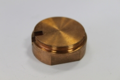 CNC soustružený díl z bronzu
