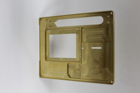 CNC obrábění - díl - mosaz