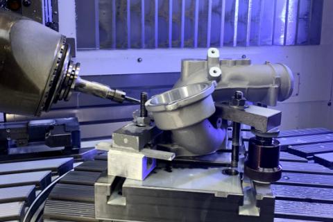 CNC obrábění - 5 osé frézování
