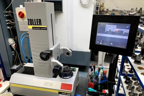 Naměřování - seřizování nástrojů - Zoller