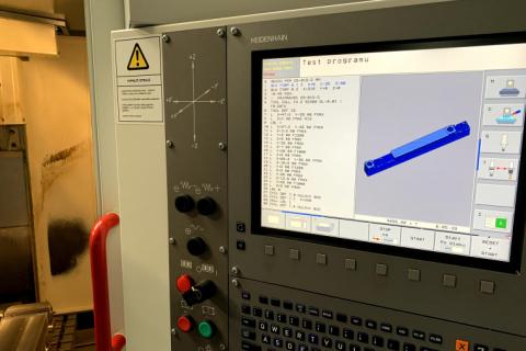 CNC obrábění - 3 osé frézování